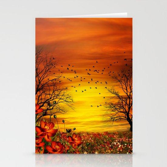 Meadow Stationery Card