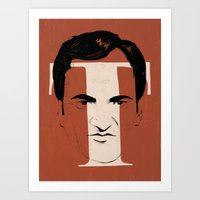 T Is For Tarantino Art Print