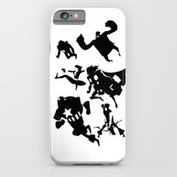 The Avengers Minimal Black and White iPhone 6 Slim Case