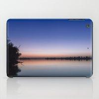 Sunset at the lake. iPad Case