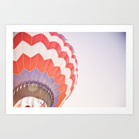 Going Up::denver Art Print