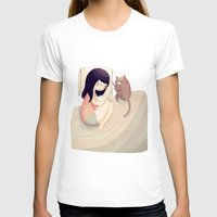 friends T-shirts featuring Best Friends by Nan Lawson