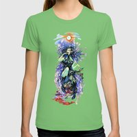 Vampire Snack Womens Fitted Tee Grass SMALL