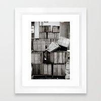 Stacks... Framed Art Print