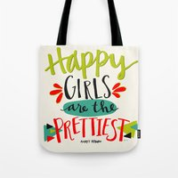 Happy Girls Are The Pret… Tote Bag
