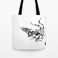 Dragon — Alternative t-shirt style (small image) Tote Bag