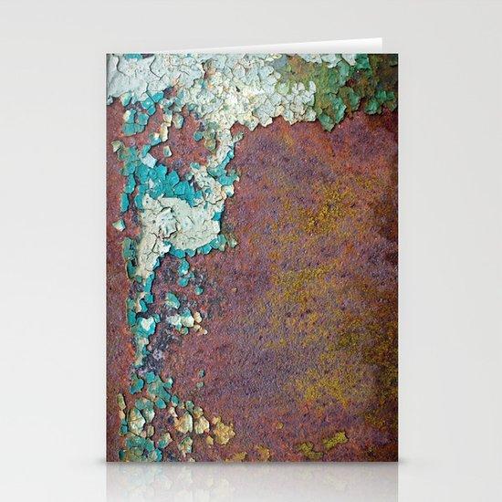 Paint mosaic Stationery Card