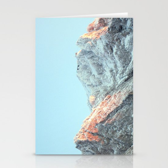 zugspitze mountain panorama, germany. Stationery Card
