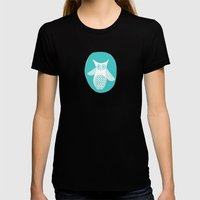 Hoot 2 Womens Fitted Tee Black SMALL