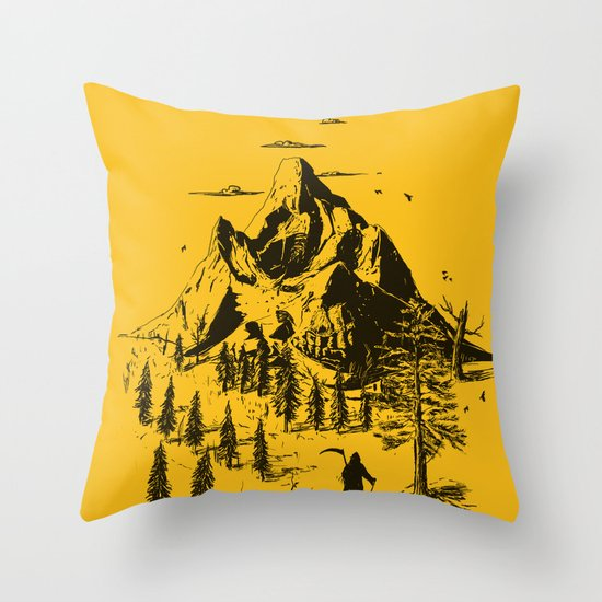 Home! Sweet Home! Throw Pillow