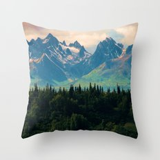 Escaping From Woodland H… Throw Pillow