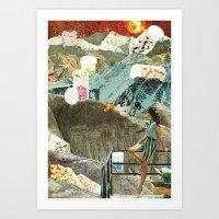 Valley of the Dolls Art Print