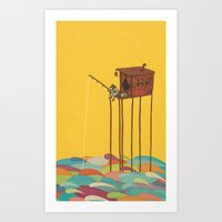 The Great Flood Art Print