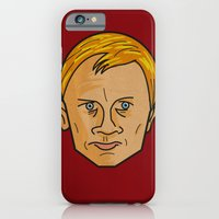 iPhone & iPod Case featuring Daniel Craig is James Bond by Gilderic