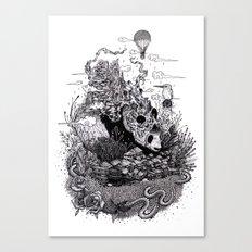 Land Of The Sleeping Gia… Canvas Print