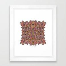 Autumn's Leafs Framed Art Print