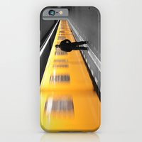 iPhone & iPod Case featuring Waiting for the Ubahn... by Sinuhe Bravo's Photography