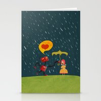 I Love You! Stationery Cards