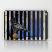 Crow Stripes Laptop & iPad Skin