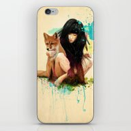 Fox Love iPhone & iPod Skin