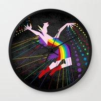 Unicorn Rainbow Maker V02 Wall Clock