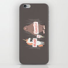 Believe in Yourself iPhone & iPod Skin