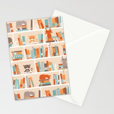 Library cats Stationery Cards