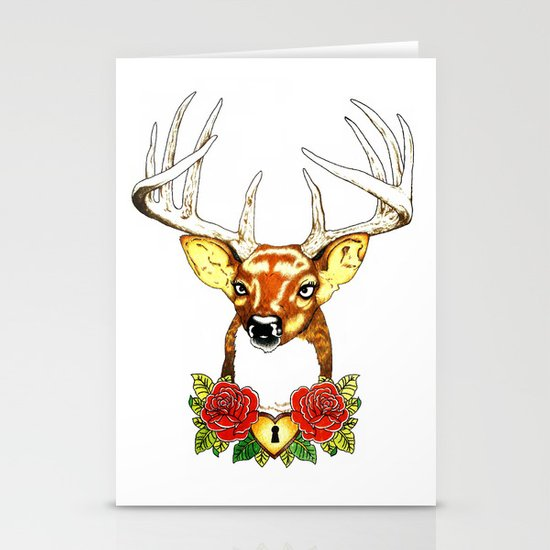 Oh deer. Stationery Card