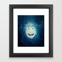 Overly Suffocating  Framed Art Print