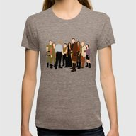 Firefly/serenity Crew Womens Fitted Tee Tri-Coffee SMALL