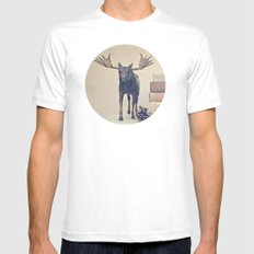 We Took To The Woods Mens Fitted Tee SMALL White