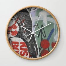Graffiti Wall Clock
