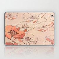 Painted Wild Roses Laptop & iPad Skin