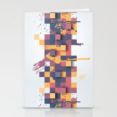 Paint Splat 3 Stationery Cards