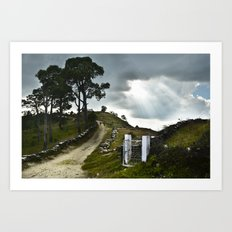 gate to heaven Art Print