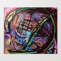 Broken Sphere Canvas Print