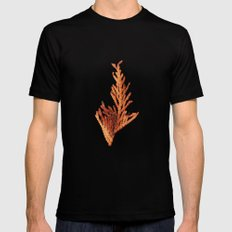 Fall Mens Fitted Tee Black SMALL