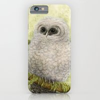 iPhone & iPod Case featuring Northern Spotted Owls by Mariya Olshevska