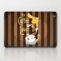 The Coffee Lover iPad Case