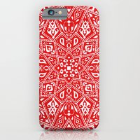 iPhone & iPod Case featuring Amirah Red by Aimee St Hill