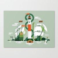 Sea of Adventure Canvas Print