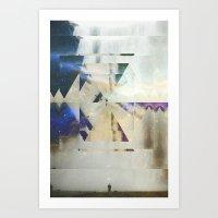 Fractions 01 Art Print