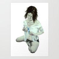 Hidden Within Art Print