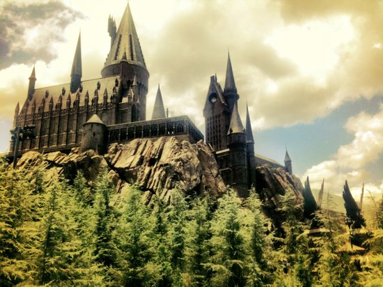 Hogwarts School of Witchcraft and Wizadry  Art Print