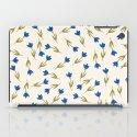 Little in blue iPad Case