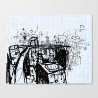 City Study Canvas Print