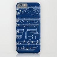 The Moonlight Sonata Blu… iPhone 6 Slim Case