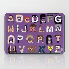 Horror Icon Alphabet iPad Case