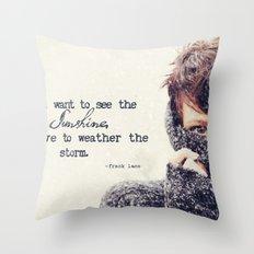 tilly. Throw Pillow