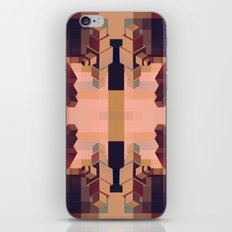 Cubed Naturally  iPhone & iPod Skin